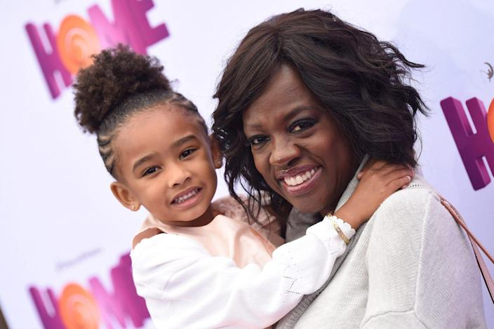 <p>In March 2015, Genesis hit the red carpet with her mom at the premiere of <em>HOME. </em></p>