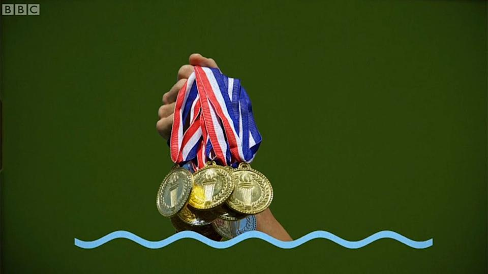 Medallas de Phelps