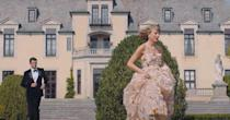 """<p>Fans of Taylor Swift know all too well that """"Blank Space"""" features stunning interiors and architecture, thanks to its two filming locations: Oheka Castle and Winfield Hall, both of which are located in Long Island, New York. The latter recently went up for <a href=""""https://www.housebeautiful.com/design-inspiration/a36863768/long-island-mansion-taylor-swift-blank-space-music-video-auction-woolworth-winfield-hall/"""" rel=""""nofollow noopener"""" target=""""_blank"""" data-ylk=""""slk:auction"""" class=""""link rapid-noclick-resp"""">auction</a>, while the former is a wedding venue and hotel that you can <a href=""""https://www.oheka.com/mansion-tours.htm"""" rel=""""nofollow noopener"""" target=""""_blank"""" data-ylk=""""slk:tour"""" class=""""link rapid-noclick-resp"""">tour</a>. This iconic video won Best Pop Video and Best Female Video at the 2015 MTV Video Music Awards. Watch it <a href=""""https://www.youtube.com/watch?v=e-ORhEE9VVg"""" rel=""""nofollow noopener"""" target=""""_blank"""" data-ylk=""""slk:here"""" class=""""link rapid-noclick-resp"""">here</a>.</p>"""
