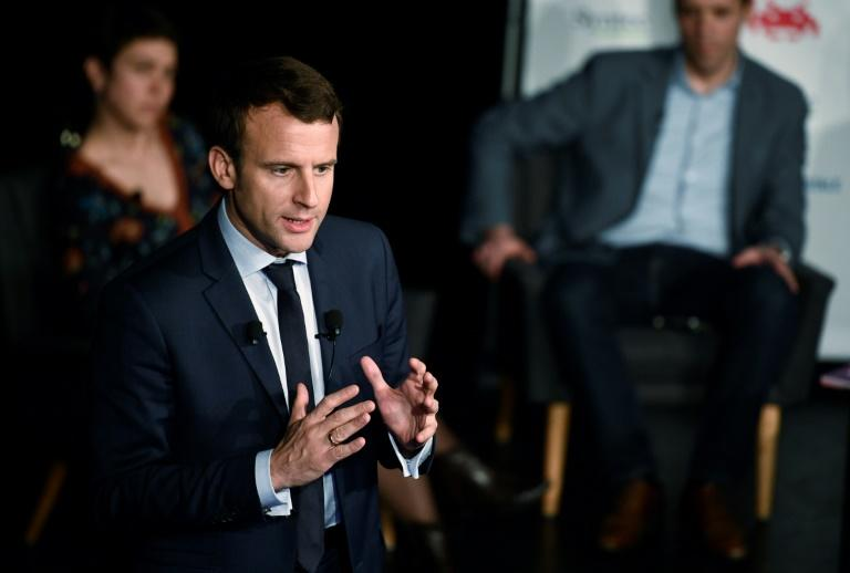 French presidential election candidate Emmanuel Macron has shaken up the race