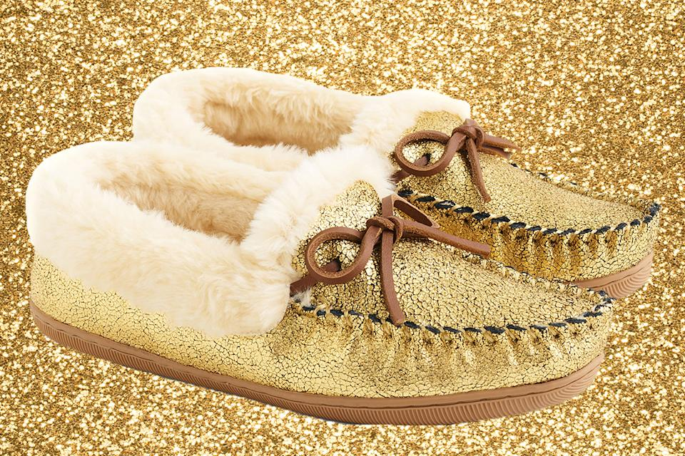 These slippers are sure to turn heads. (Photo illustration: Yahoo Lifestyle; Photo: Nordstrom)