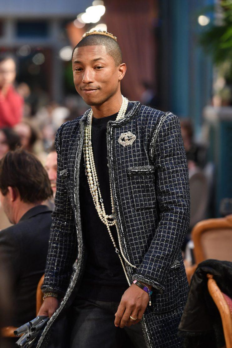 Pharrel Williams at Chanel Collection des Metiers d'Art Paris, France. (Photo by Pascal Le Segretain/Getty Images)