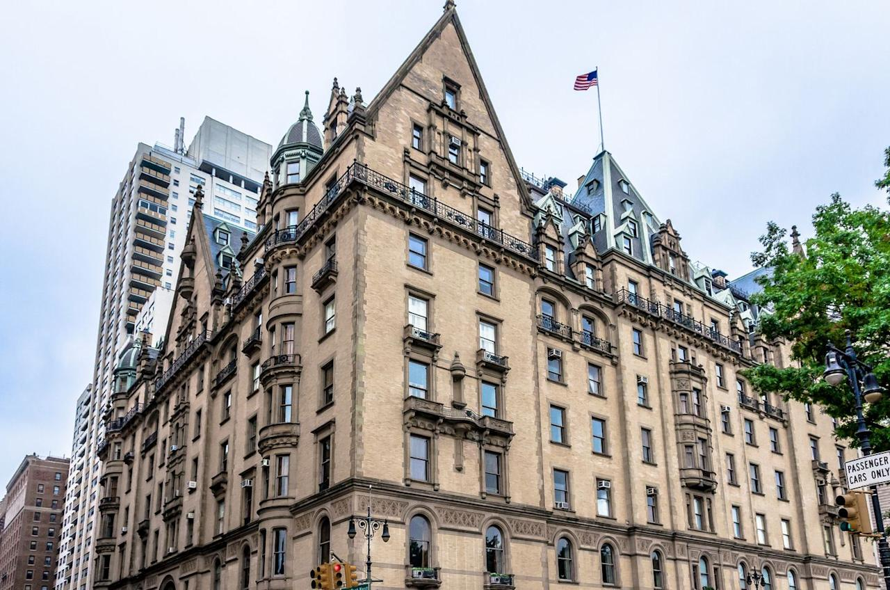 """<p><a href=""""https://www.businessinsider.com/15-crazy-facts-about-nycs-dakota-building-2015-8"""" target=""""_blank"""">The Dakota</a>, an apartment building in <a href=""""https://www.tripadvisor.com/Tourism-g60763-New_York_City_New_York-Vacations.html"""" target=""""_blank"""">New York City</a>, has been home to many rich and famous residents since it opened back in 1884. John Lennon and Yoko Ono moved into the building in 1973—and John was also assassinated outside the structure on December 8, 1980. Before his death, John claimed he saw a """"crying lady ghost"""" roaming the halls. Then, after John died, Yoko, who still lives in the building, said she witnessed John's ghost sitting at his piano. Yoko says John told her: """"Don't be afraid. I am still with you.""""</p>"""