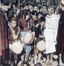 Mahatma Gandhi visited Europe. (Photo by: Carl Simon/United Archives/Universal Images Group via Getty Images)