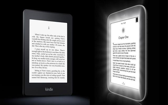 Specs Compared: Kindle Paperwhite vs. Nook Simple Touch With GlowLight