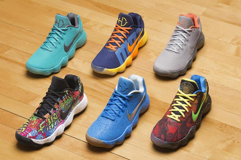 d789e00c8ff Nike Created Special Hyperdunks to Celebrate Basketball s Global Capital  Cities