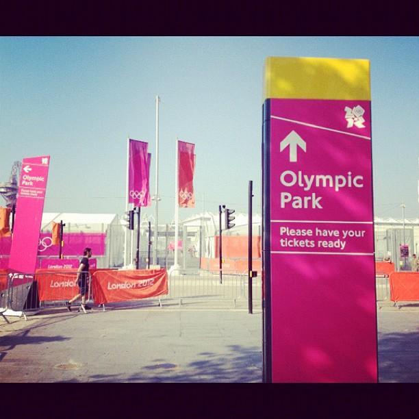 Welcome to #Olympic Park! Are you excited for the #London2012 #Games?