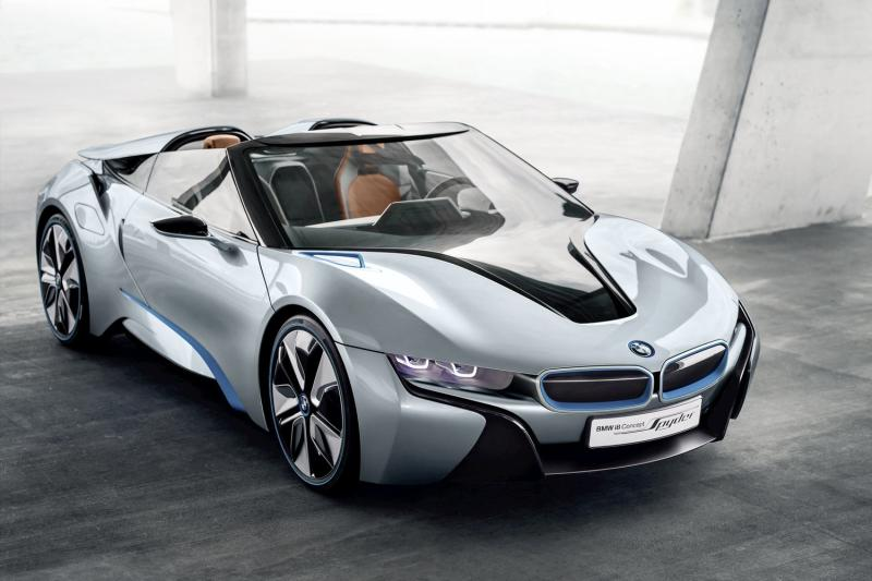 BMW's i8 convertible will finally go into production, but not until 2018