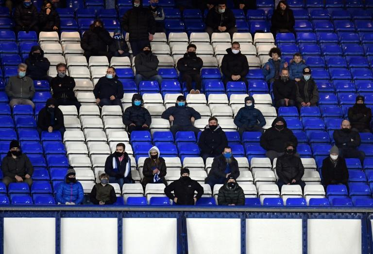 2,000 Everton fans were due to attend Monday's clash with Manchester City