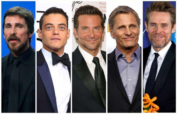 PHOTO: Best actor Oscar nominees for the 91st annual Academy Awards, from left, Christian Bale, Rami Malek, Bradley Cooper, Viggo Mortensen and Willem Dafoe. (Reuters)