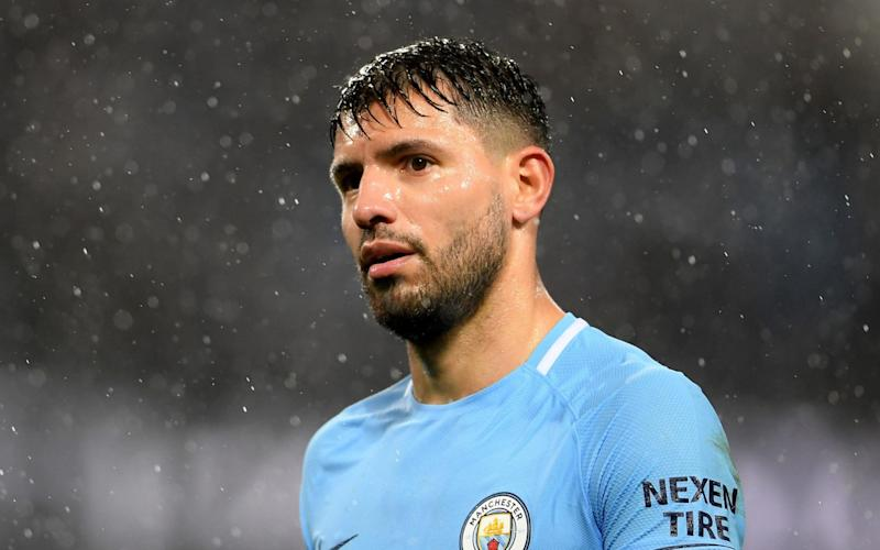 Aguero insists he is keen to stay until 2020, but that the decision does not rest with him - Getty Images Europe