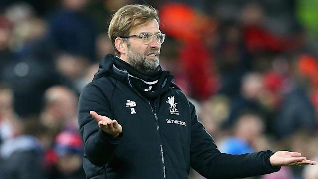 Liverpool face Everton between their Champions League quarter-final games with Manchester City, and Jurgen Klopp is angry about scheduling.