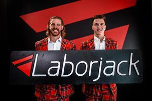Blake Craig and Josh Moser, co-founders of Laborjack (from left to right)