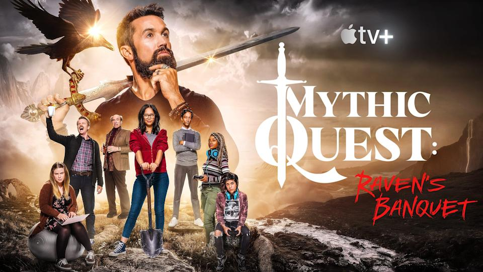 Now streaming on Apple TV+, Mythic Quest: Raven's Banquet is a live-action comedy series that follows a video game development studio, as they face the challenges of running a popular online game.