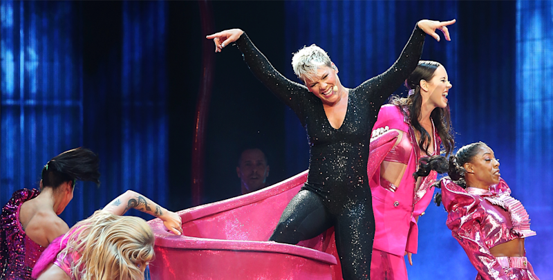 Rescheduled dates announced for Pink's postponed shows