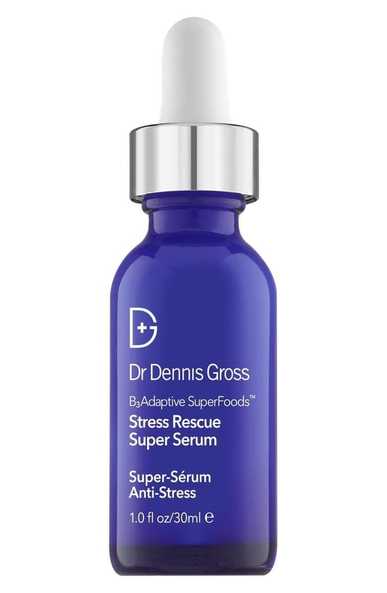 <p>Even our skin feels stressed out at times, and the <span>Dr. Dennis Gross Skincare B3 Adaptive Superfoods Stress-Rescue Super Serum</span> ($74) is here to help!</p>