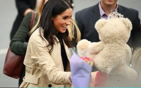 One of the cuddly toys on display - Credit: Scott Barbour/Getty Images