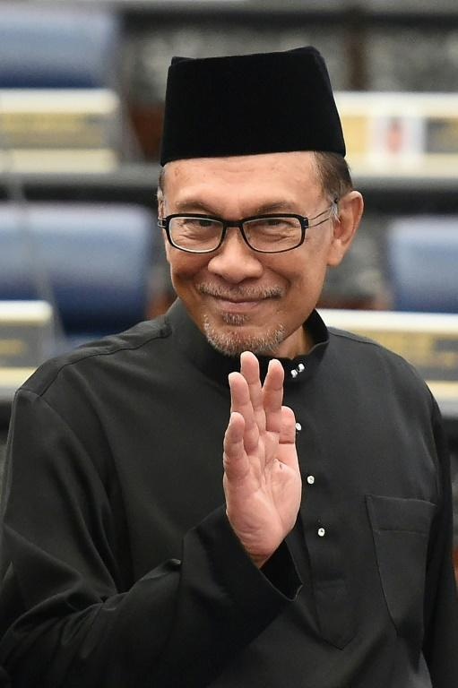 The difficult relationship between Anwar Ibrahim, pictured in 2018, and Mahathir Mohamad has dominated Malaysia's political landscape for more than two decades