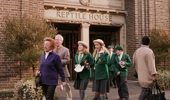 Slytherin reptile house