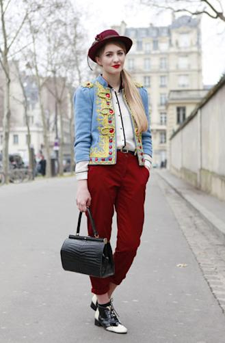 The Matador Trophy Jacket: Worn With Zara And A Vintage Bag