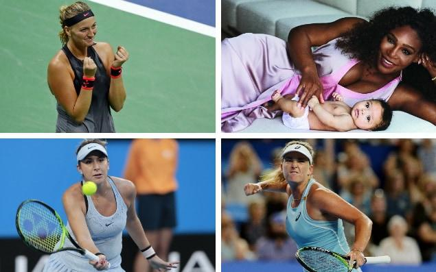 With Serena Williams still on maternity leave, can anyone dominate in her absence? - Getty Images