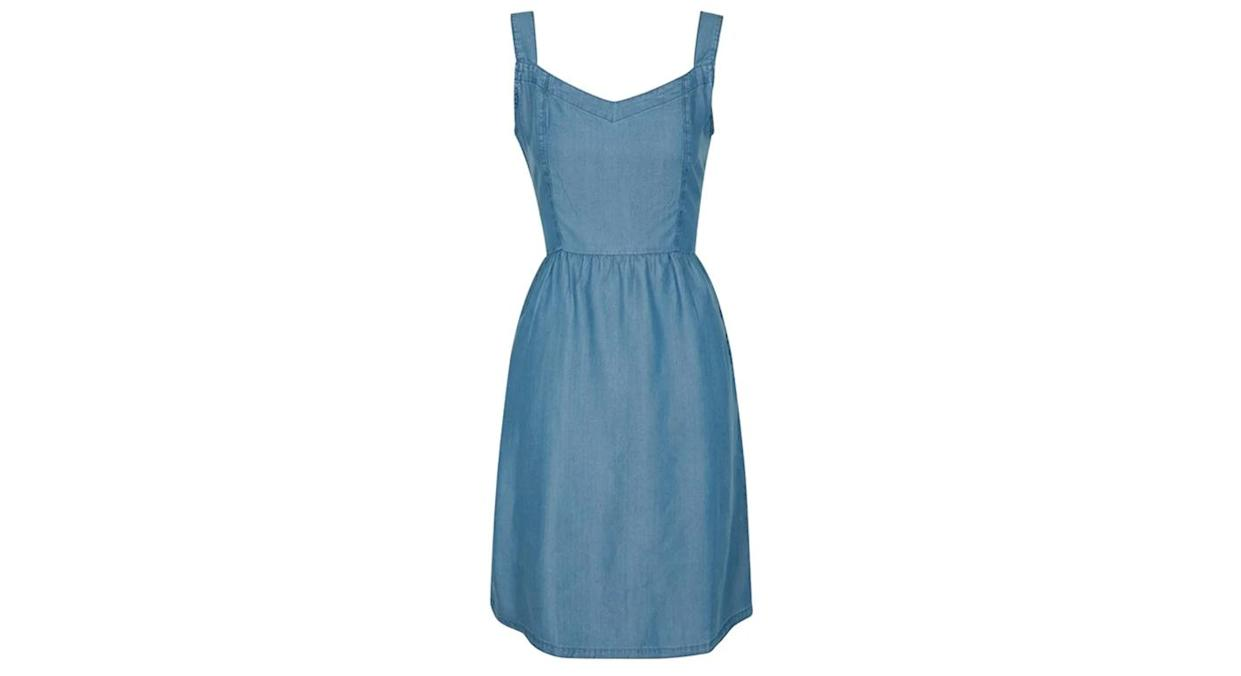 Summer Time Chambray Womens Dress