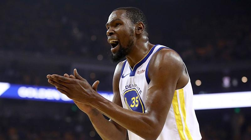 Kevin Durant on why he stays arguing on social media: 'I'm qualified'