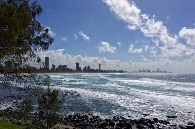 The view from Burleigh is impressive any time of day. Photo: Paul Ewart