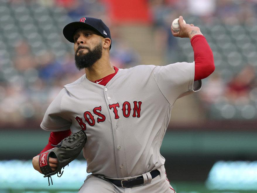 Boston Red Sox pitcher David Price has been diagnosed with carpal tunnel syndrome. (AP)