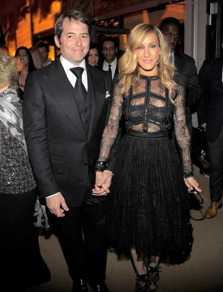 "<a href=""http://movies.yahoo.com/movie/contributor/1800010807"">Matthew Broderick</a> and <a href=""http://movies.yahoo.com/movie/contributor/1800016083"">Sarah Jessica Parker</a> at the New York City premiere of <a href=""http://movies.yahoo.com/movie/1810111276/info"">Sex and the City 2</a> - 05/24/2010"