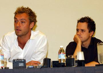 Jude Law and Giovanni Ribisi Sky Captain and the World of Tomorrow panel 2004 San Diego Comic-Con International - 7/24/2004