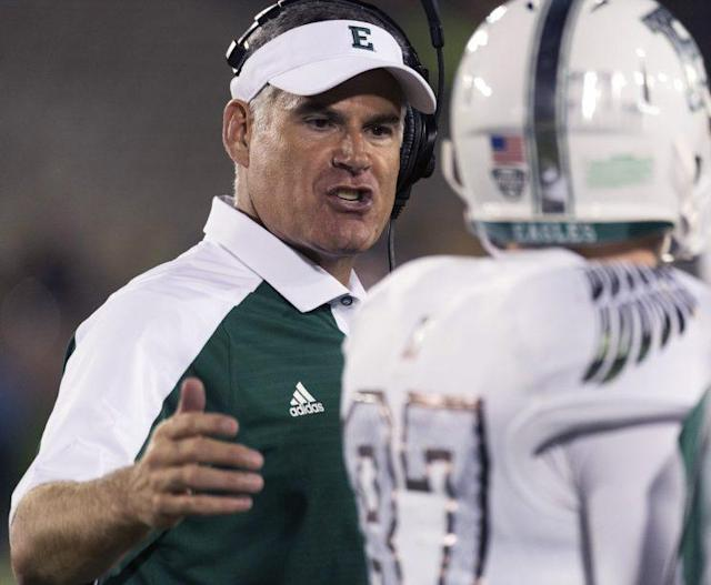Chris Creighton led Eastern Michigan to its second-ever bowl game in 2016. (AP)