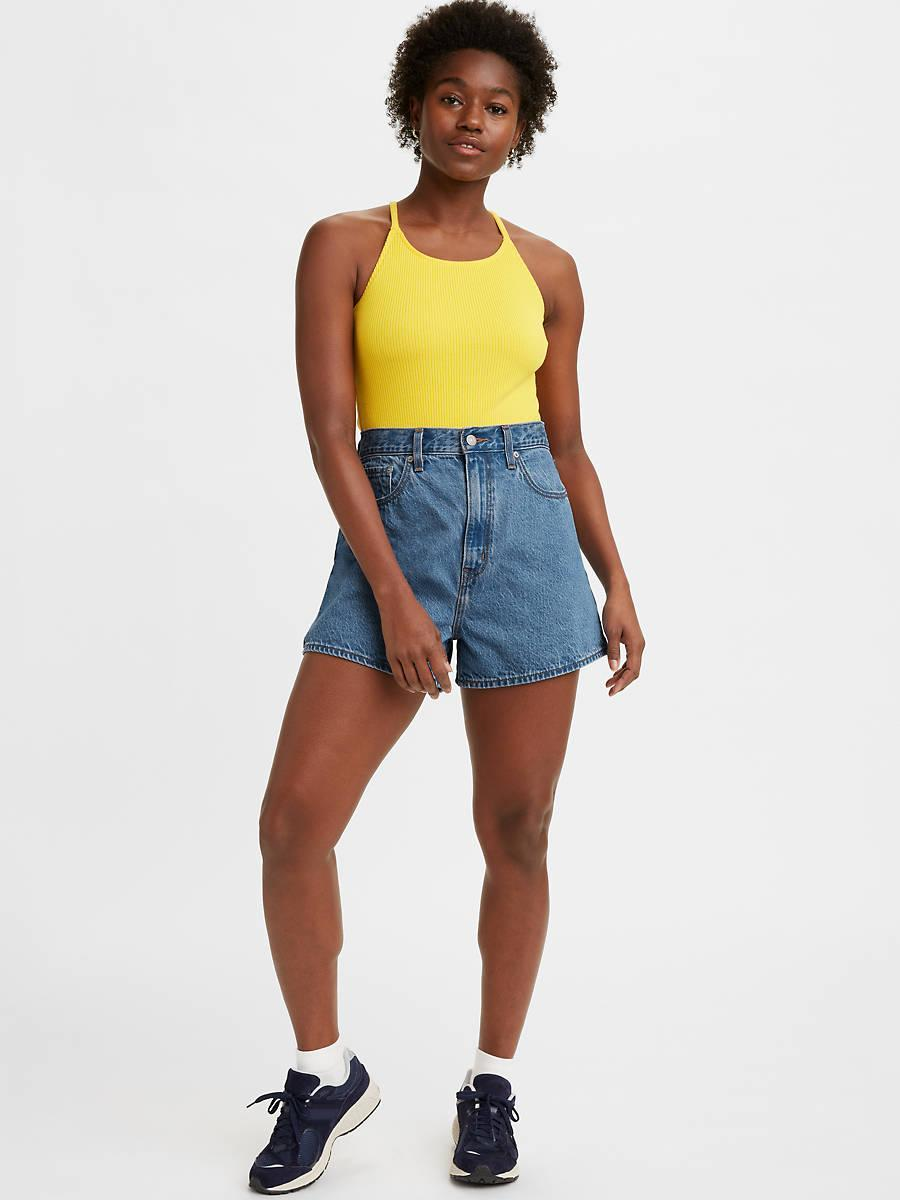"""<h2>Levi's High Loose Women's Shorts</h2><br><strong><em>The '90s Style </em></strong><br><br>Combine an A-line shape with a planet-friendly TENCEL fabric and a classic vintage silhouette and you've hit the sartorial trifecta for your next summer staple. <strong><em><br></em></strong><br><strong>The Hype: </strong>4.6 out of 5 stars; 17 reviews on levi.com<br><br><strong>What They're Saying</strong>: """"I love these so much. You can tell the fabric is really great quality. Note that they don't have any kind of stretch though. But that being said, they definitely run a little large but that just makes them even comfier since they have room. I've always struggled with having a smaller waist and large thighs so usually shorts are impossible for me to find. These are the best shorts I've ever gotten. Perfect room in my thighs while not being too large in the waist. If they do these in more colors I might cry."""" — Sarah, levi.com reviewer<br><br><em>Shop <a href=""""https://www.levi.com/US/en_US/"""" rel=""""nofollow noopener"""" target=""""_blank"""" data-ylk=""""slk:levi.com"""" class=""""link rapid-noclick-resp""""><strong>levi.com</strong></a></em><br><br><strong>Levi's</strong> High Loose Women's Shorts, $, available at <a href=""""https://go.skimresources.com/?id=30283X879131&url=https%3A%2F%2Fwww.levi.com%2FUS%2Fen_US%2Fclothing%2Fwomen%2Fshorts%2Fhigh-loose-womens-shorts%2Fp%2F394510002"""" rel=""""nofollow noopener"""" target=""""_blank"""" data-ylk=""""slk:Levi's"""" class=""""link rapid-noclick-resp"""">Levi's</a>"""