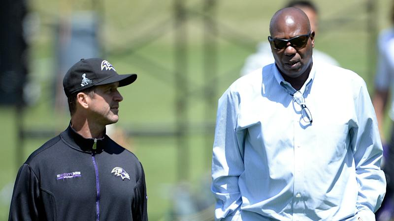 Ravens' Ozzie Newsome, John Harbaugh face questioning in Colin Kaepernick grievance