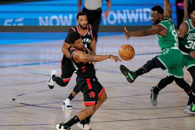 """Nurse: After """"heavy times,"""" the Raptors' win over Boston was pure basketball joy"""
