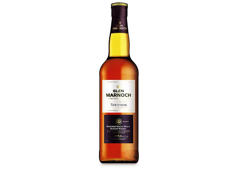 """Aldi has been the <a href=""""https://uk.style.yahoo.com/aldi-whiskies-win-awards-145801388.html"""" data-ylk=""""slk:talking point of the week;outcm:mb_qualified_link;_E:mb_qualified_link;ct:story;"""" class=""""link rapid-noclick-resp yahoo-link"""">talking point of the week</a> after four of the German supermarket's whiskies scooped prestigious awards at a global competition. Cue the perfect gift for the main man in your life this Father's Day. <a href=""""https://go.skimresources.com?id=134214X1597530&xs=1&url=https%3A%2F%2Fwww.aldi.co.uk%2Fspeyside-single-malt-scotch-whisky%2Fp%2F068322237384704"""" rel=""""nofollow noopener"""" target=""""_blank"""" data-ylk=""""slk:Buy now"""" class=""""link rapid-noclick-resp""""><em>Buy now</em></a><em>.</em>"""