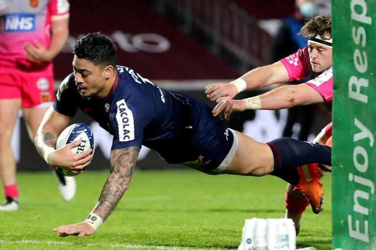 Ben Lam scored his third Bordeaux-Begles try in the victory over the Dragons earlier this month