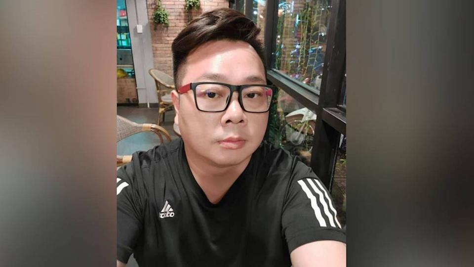 An image of Jun Wei Yeo which he had posted on his social media.