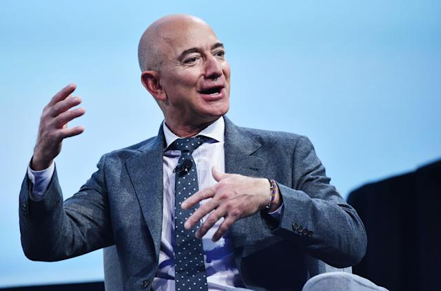 Amazon founder Jeff Bezos tops the Bloomberg Billionaires Index. Photo: Mandel Ngan/AFP via Getty Images