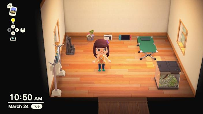 Animal Crossing House Inside