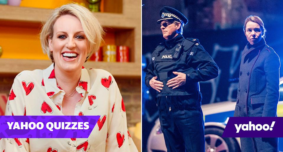 Steph McGovern and Line of Duty were both in the showbiz news this week (Channel 4/BBC)