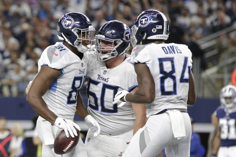 Corey Davis, Jonnu Smith become fantasy must-starts with A.J. Brown out