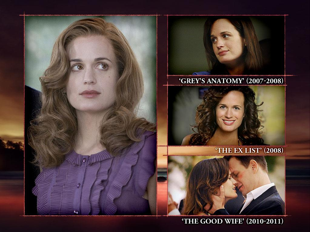 "<b>Elizabeth Reaser (Esme Cullen)</b><br><br>Elizabeth Reaser is best known as mama-vamp Esme Cullen -- but she also played Serena Whitfield and Jillian Slaughter on ""<a>Law & Order: Criminal Intent</a>"" (2002, 2006). Oh, and Jane Doe, Rebecca Pope, and Ava on ""<a>Grey's Anatomy</a>"" (2007-2008). Yep -- three parts, one show. She's just that good. More recently, however, Elizabeth won the starring role in the CBS dramedy ""<a>The Ex List</a>"" (2008) in which she played a woman who, after being told by a psychic that she's already dated her future husband, seeks out her former flames. While that show fizzled out due to disappointing ratings, Elizabeth was able to land a recurring role on another CBS show, Emmy-winning ""<a>The Good Wife</a>"" (2010-2012). But way back in 1998, Elizabeth played the part of Molly on something called ""Shaquille O'Neal's Sport Theater."" Well, you've got to start somewhere. She followed that up with a one-episode appearance as Stace on ""<a>The Sopranos</a>"" in 2000."