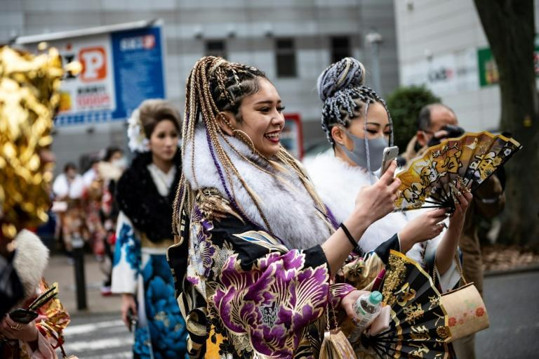 More than a million people in Japan turn 20 this year