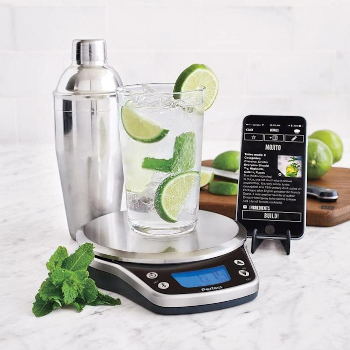 <p>Your friend may say that they mix the best drinks, but now they actually can with this <span>Perfect Drink Pro Smart Scale and App Kitchen Tool</span> ($100). The machine lets a robot take control of the alcohol-to-mixer ratio to ensure perfection. </p>