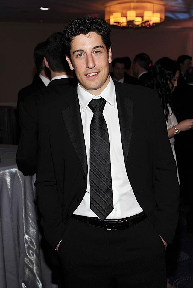 "Jason Biggs turns 33 Larry Busacca/<a href=""http://www.gettyimages.com/"" target=""new"">GettyImages.com</a> - April 30, 2011"