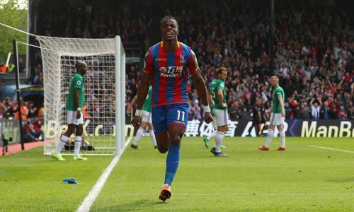 Wilfried Zaha strikes as Crystal Palace brush aside West Brom