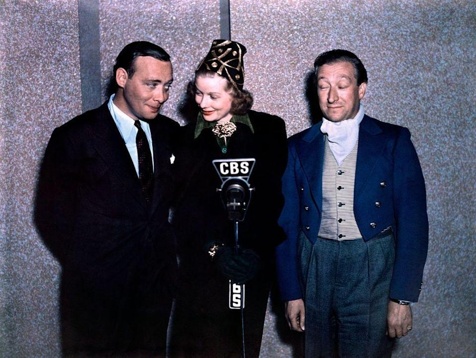 <p>Lucille worked as a comedian on CBS's radio show, <em>The Phil Baker Show,</em> in 1938. Here, she records a scene with Phil Baker himself, as well as British actor Harry McNaughton. </p>