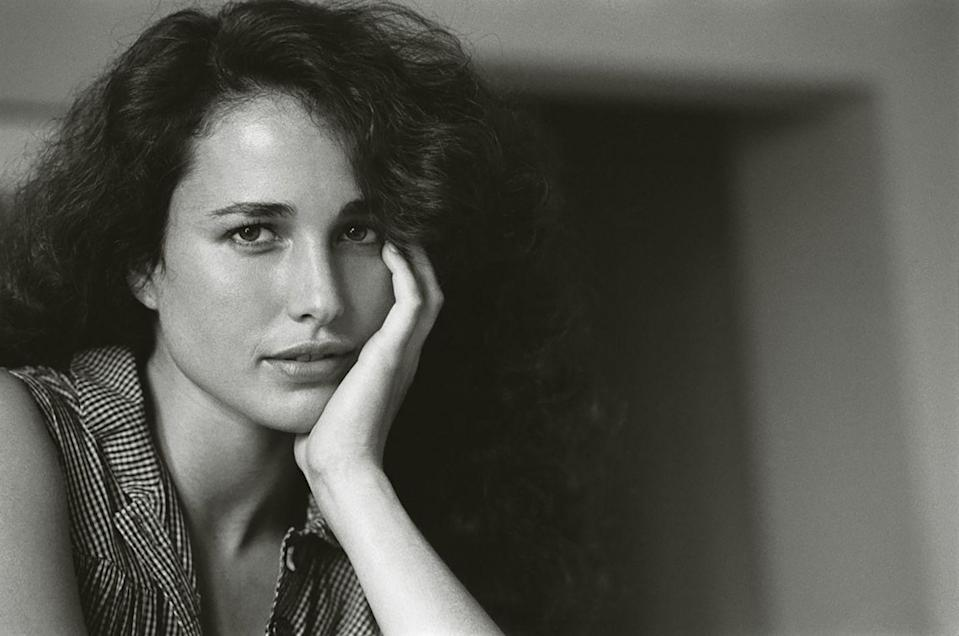 <p>Her daughters, Rainey and Margaret Qualley, may be some of Hollywood's newest stars (Margaret made her on-screen debut in <em>Once Upon a Time in Hollywood</em> this year), but not too long ago it was Andie Macdowell who was rising up in the industry. Macdowell landed her first role in the 1984 film <em>Greystoke: The Legend of Tarzan, Lord of the Apes</em>.</p>
