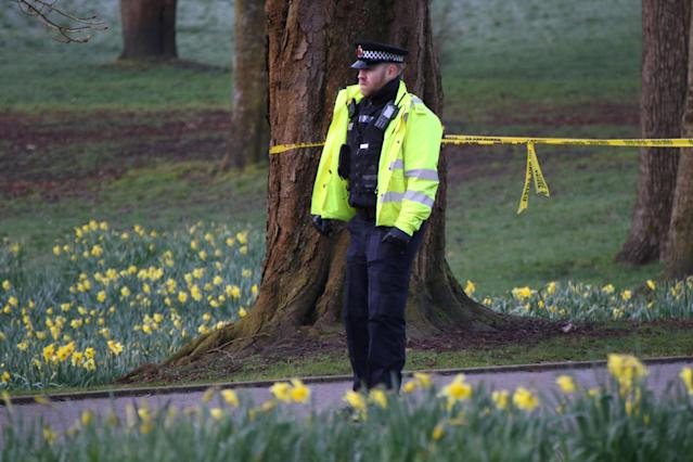 A woman has been detained under the Mental Health Act after a child was stabbed to death in broad daylight on Mother's Day afternoon (SWNS)